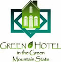 Green Hotels in the Green Mountain State logo